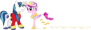 princess cadance and shining armour dancing