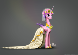 princess cadance portrait