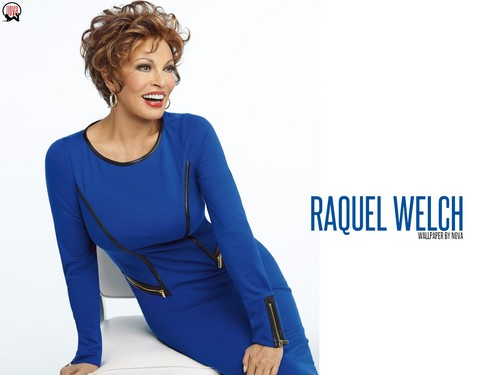 Raquel Welch wallpaper containing a well dressed person, a legging, and an outerwear entitled Raquel Welch