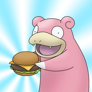 slowpoke s burger door tet teddy