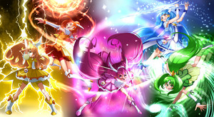 smile precure wallpaper