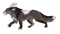 tamlin beast form by dawnheart101