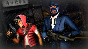 tf2 sfm  the 2 survivors by ace of bros d8md68d