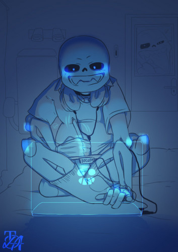 Sans (Undertale) Обои entitled tumblr nzw9aunhJF1v2evypo1 500