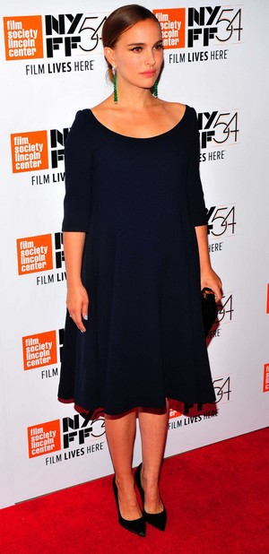 Attending the 54th New York Film Festival 'Jackie' screening at the lincoln Center, New York Ci