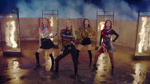 ♥ BLACKPINK - PLAYING WITH आग M/V ♥