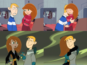 Disney s Kim Possible and Ron Stoppable Hug