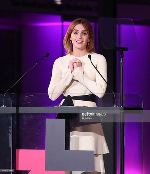 Emma Watson at HeForShe 2nd Anniversary Reception at Museum of Modern Art on September 20 2016