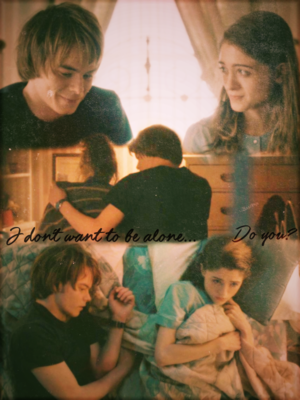 """""""I don't want to be alone... Do you?"""" ~ Jonathan & Nancy"""