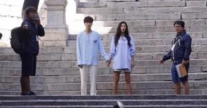 Lee Min Ho and Jun Ji Hyun