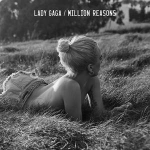 """Million Reasons"" single cover"