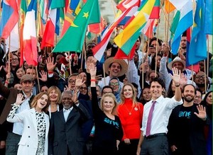 One Young World Summit Opening in 2016, Ottawa