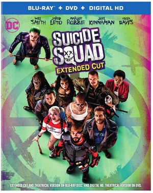 'Suicide Squad' Blu-Ray Box Art