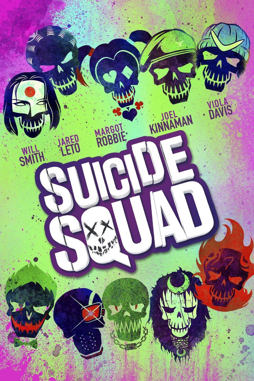 'Suicide Squad' iTunes/AppleTV Cover Art