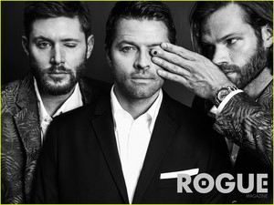 'Supernatural' Cast Rogue Magazine Photoshoot