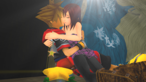 The Last of Sora and Kairi Intertwine  Light Shine .