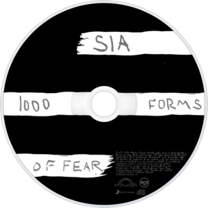 1000 forms of fear - CD art