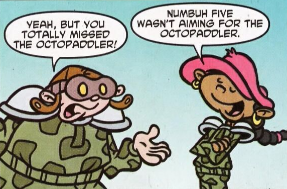2/5 Comic Strip Panel