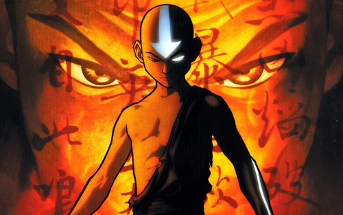 Avatar – Der Herr der Elemente Hintergrund possibly containing a gasmask called ATLA - Avatar Aang