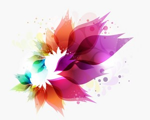 Abstract Colorful डिज़ाइन Vector Background Art