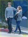 Adam Brody & Leighton Meester Couple Up For Breakfast in LA - leighton-meester photo