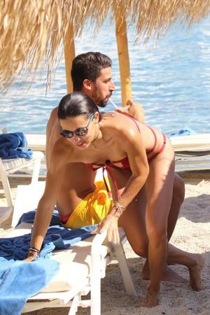 Adriana Lima in Greece