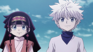 Alluka and Killua