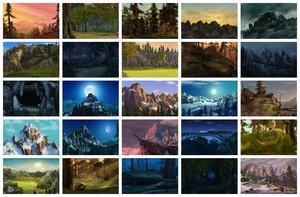 Alpha and Omega Landscapes