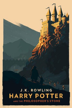 Amazing Hogwarts Print, HP 1