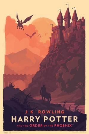 Amazing Hogwarts Print, HP 5