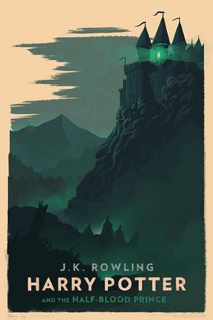 Amazing Hogwarts Print, HP 6
