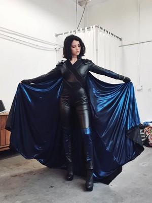 Amber in Costume