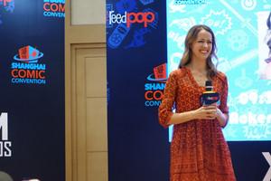 Amy Acker at Shanghai Comic Con 2016