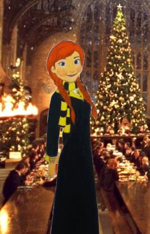 Anna in Hufflepuff
