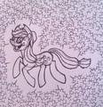 Applejack - my-little-pony-friendship-is-magic fan art
