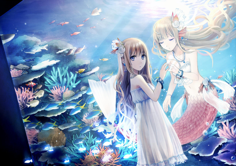 Aquarium Аниме Mermaid