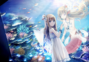 Aquarium Anime Mermaid