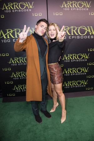 Arrow's 100th Episode Party