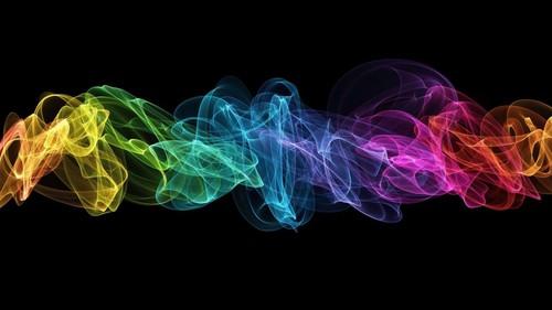 cutiepyepye fondo de pantalla entitled Art Black Background Spectrum colores fondo de pantalla
