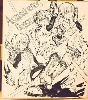 Assassination Classroom Drawimg