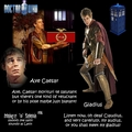 Ave Caesar - doctor-who fan art