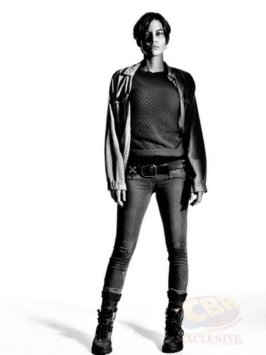 The Walking Dead wallpaper with a legging, a hip boot, and tights called Character Portrait #2 ~ Maggie Greene