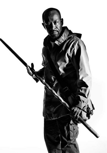 The Walking Dead karatasi la kupamba ukuta possibly containing a rifleman entitled Character Portrait #2 ~ morgan Jones