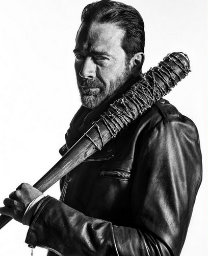 The Walking Dead karatasi la kupamba ukuta titled Character Portrait #2 ~ Negan