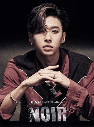 Bang Yong Guk's teaser image for 2nd full album 'NOIR'