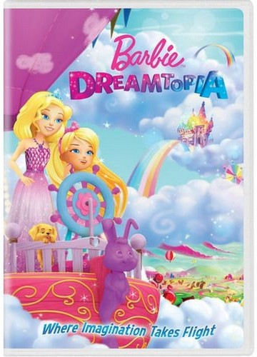 芭比 电影 壁纸 probably containing 日本动漫 entitled Barbie: Dreamtopia dvd