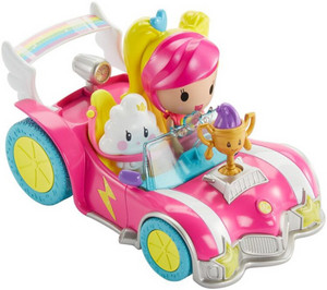 Barbie Video Game Hero kar, winkelwagen toy