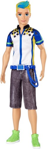 Barbie فلمیں پیپر وال probably containing an outerwear, a playsuit, and a بلاؤز, کمری entitled Barbie Video Game Hero male doll