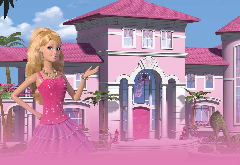 Barbie karatasi la kupamba ukuta