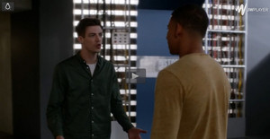 "Barry tells Wally off (3x03 - ""Magenta"")"